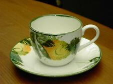 Poole Pottery Hand Painted Calabash Cup & Saucer In V.G.C. Free UK P&P.