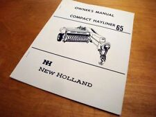 Heavy Equipment Manuals & Books for New Holland