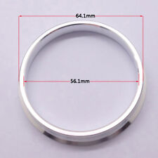 4pcs High Quality Aluminum Alloy Wheel Spacer Hub Centric Rings 64.1OD to 56.1ID