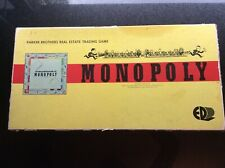 VINTAGE MONOPOLY BOARD GAME 1960'S PARKER BROTHERS