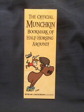 Official Munchkin Bookmark of Half-Horsing Around