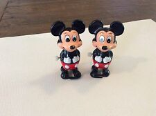 2 DISNEY MICKEY MOUSE TOMY WIND UPS