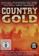 Country Gold : Johnny Cash, Dolly Paron, Willy Nelson, John Denver, ... (2 DVD)