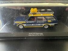 FIAT 131 PANORAMA ASSISTANCE RALLYE OLIO FIAT 1976 - 1977 IXO ALTAYA 1/43 RALLY