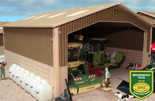 BRUSHWOOD TOYS BRUSHWOOD BASICS SINGLE BAY SHED 1:32 SCALE BB9000