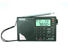 New PL-310ET (Black Color) PLL&DSP Multi Band Radio ** ENGLISH VERSION **