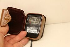 Working Vintage Weston Model 853 Direct Reading Light Exposure Meter with Pouch