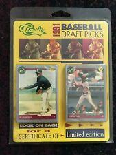 1991 Classic Baseball Draft Picks FACTORY BLISTER SET (50) w/ Manny Ramirez