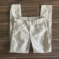 Citizens Of Humanity COH Rocket High Rise Skinny Jeans Grey Khaki Taupe Sz 30