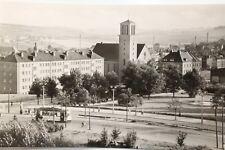 2666 Foto AK Plauen Platz der Roten Armee mit Straßenbahn 1963