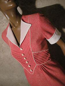 Robe Seventies Dans Robes Pour Femme Ebay