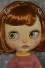 OOAK custom Blythe red hair by Candy Color Dolls. Complete outfit included