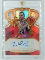 2018-19 Panini Crown Royale Autograph Rookies Wendell Carter Jr RC, #'d /149