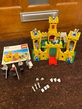 Lego Classic Castle 375 with original instruction booklet 1978 Rare Helmets