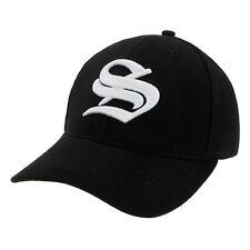 Gorra Béisbol Nuevo Algodón Hombre Mujer Sombrero Letra A Unisex Negro Casual