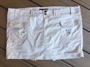 JALATE Jeanswear Womens Sz 18 Khaki 4 Pocket Hiking Camping Biking Skort Skirt