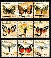 GUINEA BISSAU 2001 - SET BUTTERFLIES / PHILANIPPON MNH