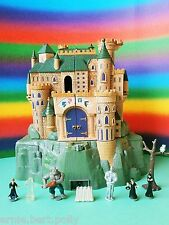 Polly Pocket mini ☬ Harry Potter Poudlard Château ☬ + personnages Warner Bros ** Sound