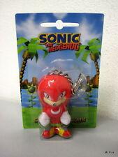 Sonic The Hedgehog KNUCKLES Antistress Portachiavi Keyring Keychain Gaya Nuovo