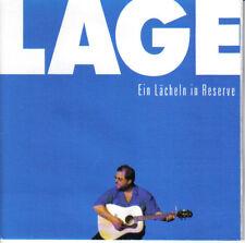 KLAUS LAGE / EIN LÄCHELN IN RESERVE  * NEW CD * NEU *