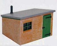 Peco LK-705 - Brick Lineside Hut 'O Gauge' Plastic Kit New