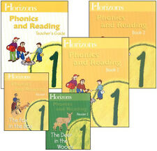 Alpha Omega Horizons 1st Grade 1 Phonics & Reading - English Homeschool Set NEW!