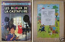 Tintin  LES BIJOUX DE LA CASTAFIORE  EO française 1963