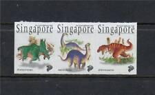 Singapore 1998 Dinosaurs S/ Adh SG 916/18 MNH
