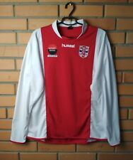 RCL Leiderdorp  football shirt  Long Sleeve jersey soccer Hummel size M/L
