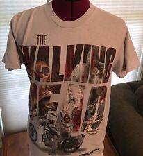 NWT NEW THE WALKING DEAD DARRYL DIXON ARROWS IN WALKERS COTTON T-Shirt SMALL