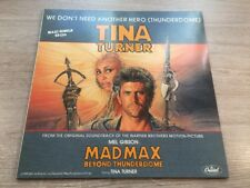 12 MAXI Capitol Tina Turner – we don 't Need Another Hero Thunderdome German