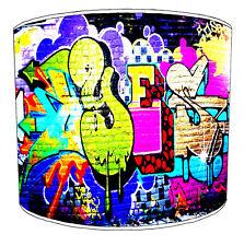 Graffiti Art de Rue Enfants Abat Jour Idéal pour Correspondant Literie Rideaux