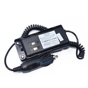 Original WOUXUN 12-24V Car Charger Battery Eliminator KG-UV9D PLUS Walkie Talkie