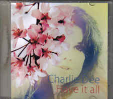 Charlie Dee-Have It All Promo cd single