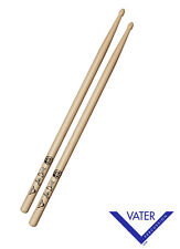 Vater Drumsticks Premium Hickory 55BB - Wood Tip 5A / 5B Style - 12 Pairs! Sale!