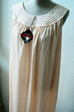 VTG 1970s Nightie Night Gown French Maid Lingerie Co.  Antron-III Nylon NWT sz M