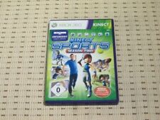 Kinect SPORTS SEASON TWO PER XBOX 360 xbox360 * OVP *