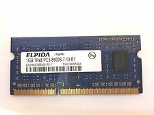 ELPIDA 1GB DDR3 1333MHZ PC3-8500S 204-PIN CL9 SODIMM MEMORY Laptop Notebook