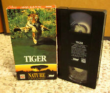 ROYAL BENGAL TIGERS rasing cubs hunting Asia documentary VHS endangered India