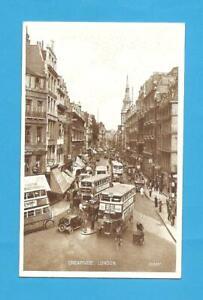 Cheapside, London. Postcard.