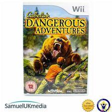 Cabela Aventuras Peligrosas (Wii) ** Excelente Estado **