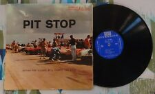 Pit Stop LP Behind The Scenes At A Sports Car Race 1956 Riverside VG+