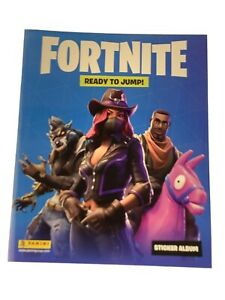 Lot 3 FORTNITE Panini Sticker Album No Stickers NEW 613297962175