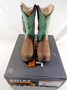 ARIAT WOMEN'S TRACEY PULL ON H20 WATERPROOF COMPOSITE TOE WORK BOOTS 10015405