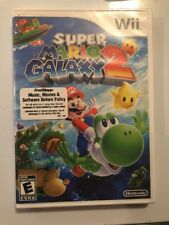 Super Mario Galaxy 2 Wii Brand New Factory Sealed Original First Print