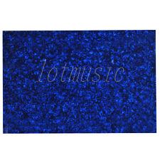 Blue Pearl 3ply 43X29cm Guitar Body Blank Scratch Plate Pickguard Sheet