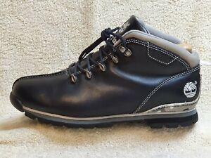 Timberland mens Comfort Boots Leather Black UK 8 EUR 42 US 8.5