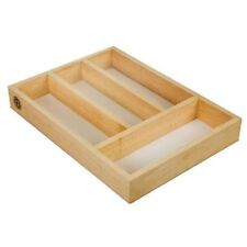 wooden kitchen cutlery drawer tray