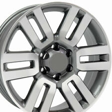 "20"" Rim Fits Toyota Tacoma Tundra Lexus 4Runner TY10 Gunmetal Machd 20x7 Wheel"