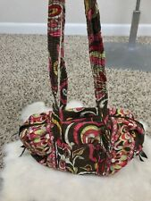 Vera Bradley Woman Tote Bag Shoulder Handbag Multi-Color Purse Cotton USA Small
